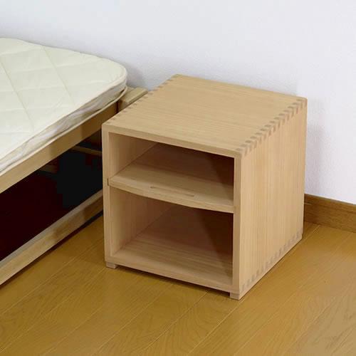 総桐製サイドテーブル